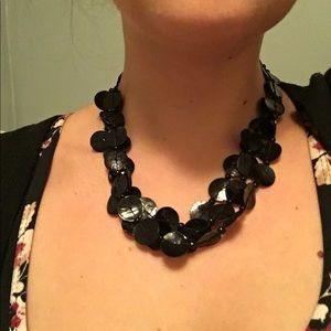 Black necklace from Lechateau